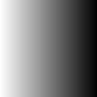 Forme carrée dégradée du blanc au noir.