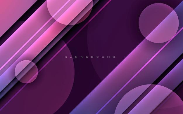 Forme de couleur violet diagonale abstraite fond clair