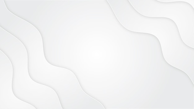 Forme de fond blanc pur