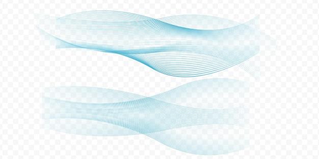 Forme de formes ondulées
