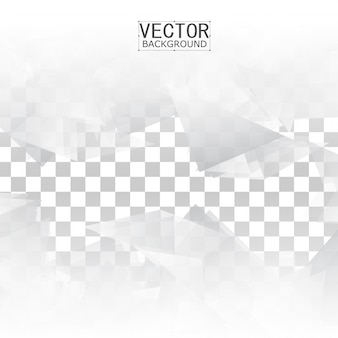 Forme géométrique abstraite du triangle gris.