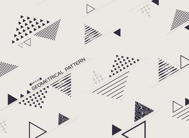 Forme libre de style de fond abstrait géométrique bleu.
