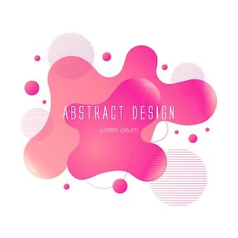 Forme liquide abstraite