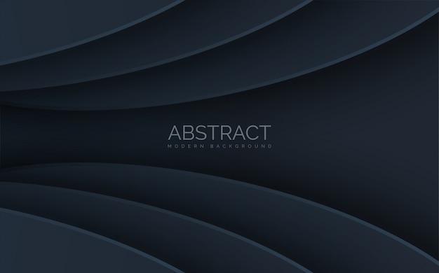 Forme ovale abstraite avec effet d'ombre.