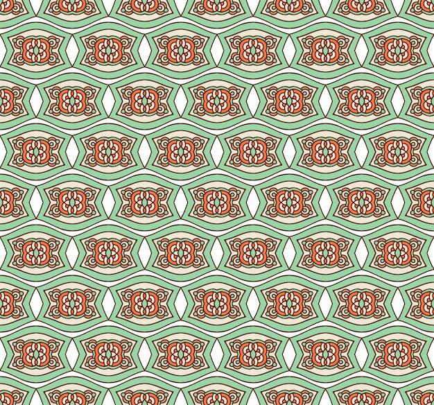 Forme transparente floral ethnique motif décoratif abstrait