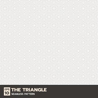 Forme de triangle ou modèle sans couture de ligne géométrique