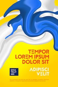 Formes abstraites avec illustration de couleurs hipster