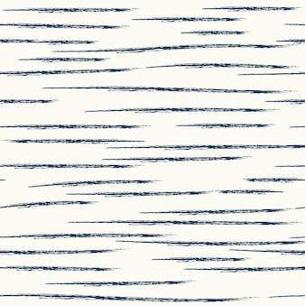 Formes abstraites de modèle sans couture et lignes d'éléments dessinant sur le tirage au sort de la main de fond blanc