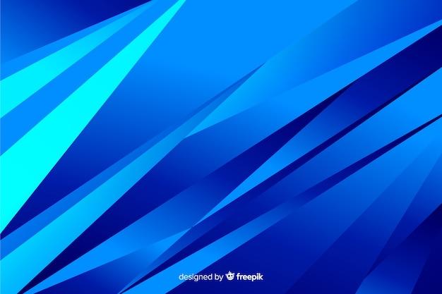 Formes abstraites sur les tons bleus