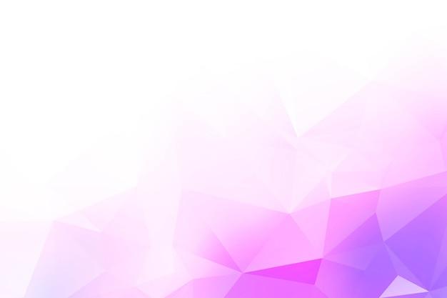 Formes abstraites de triangle poly faible coloré
