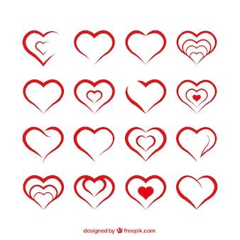 Formes de coeur