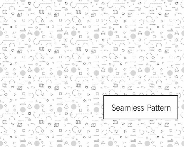 Formes de mouvement géométrique dynamique de promotion de modèle abstrait sans couture. modèle pour la conception de la couverture, affiche, bannière, carte, salutation, entreprise, décoration.