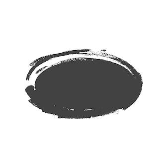 Formes rectangulaires peintes vintage grunge. illustration vectorielle.