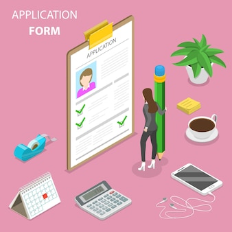 Formulaire de candidature, enquête en ligne, questionnaire
