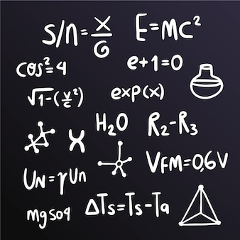 Formules scientifiques sur le concept de tableau