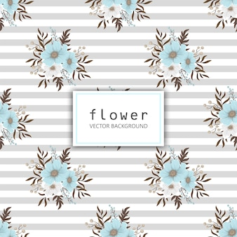 Fower page boarders - fleur rouge