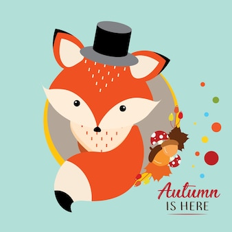 Fox autumn is here