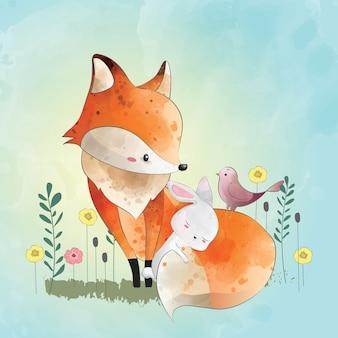 Fox et ses amis