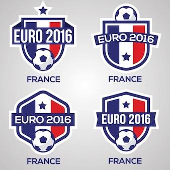 En france badges de football