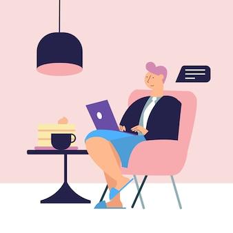 Freelance à domicile