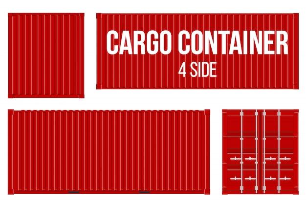Fret maritime, conteneurs de transport.