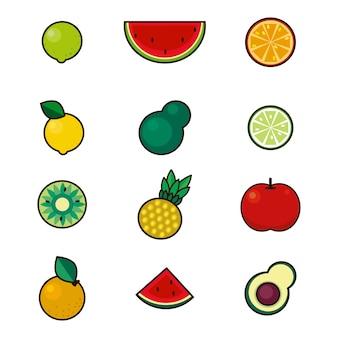 Fruit de fête mignon