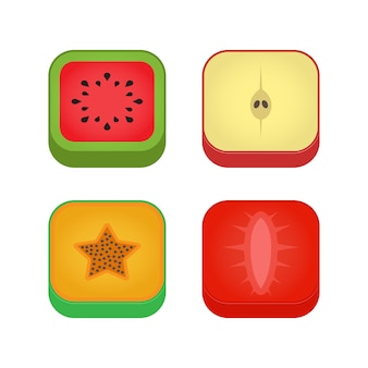 Fruit icon pack d'icônes