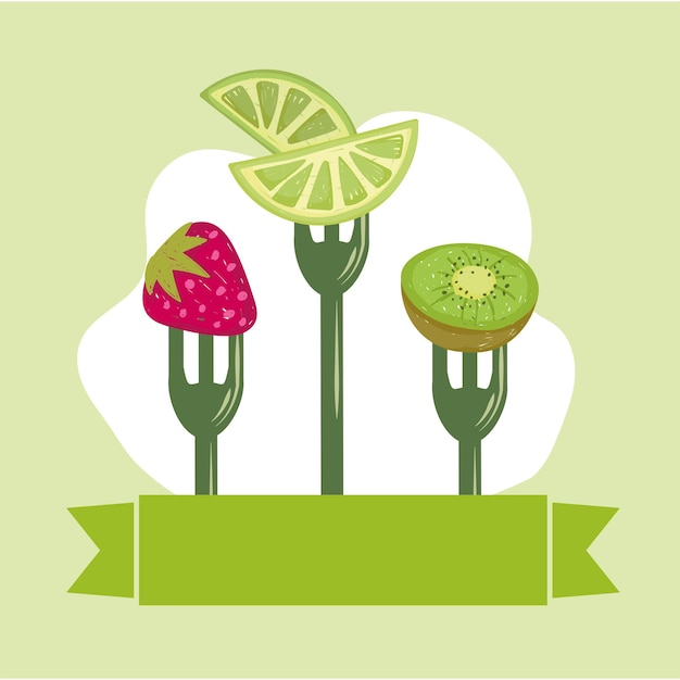 Fruits alimentaires sains