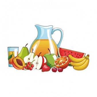 Fruits délicieux et frais