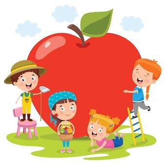 Fruits frais pour une alimentation saine