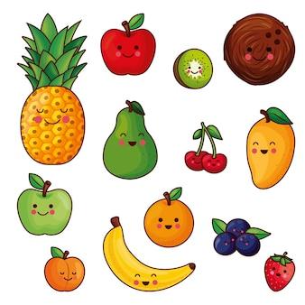 Fruits kawaii