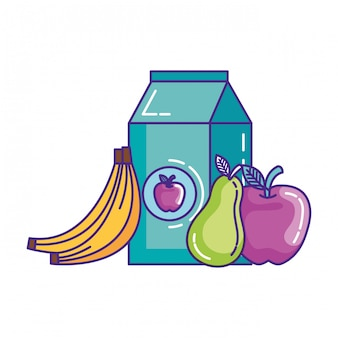 Fruits et lait