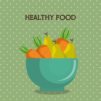 Fruits et légumes nourriture saine