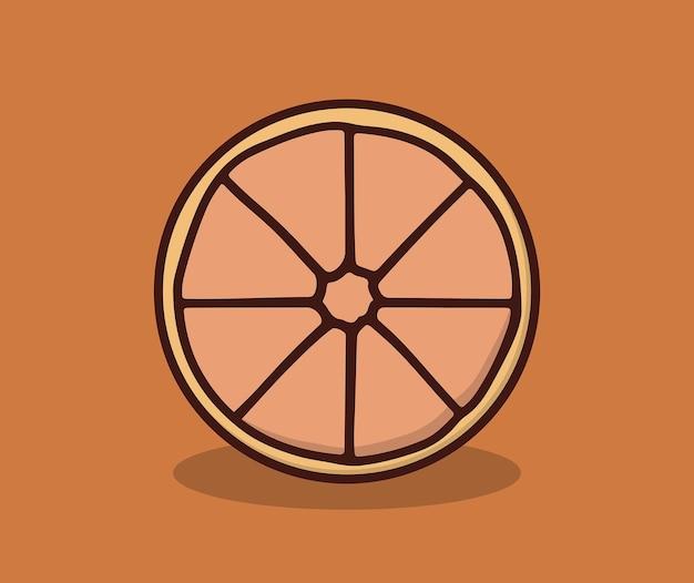 Fruits oranges frais cet été