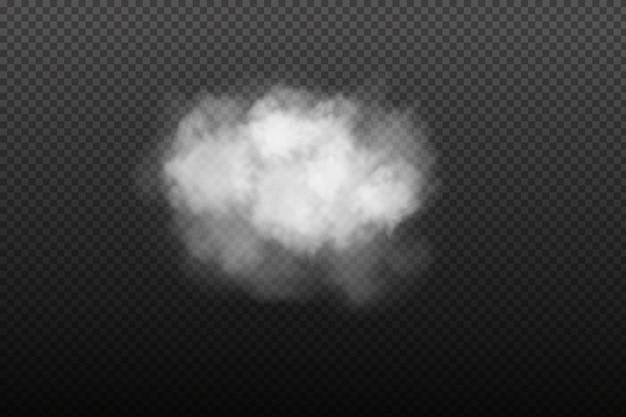 Fumée de brouillard ou smog réaliste