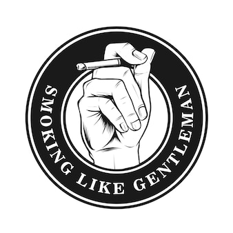 Fumer comme un gentleman design