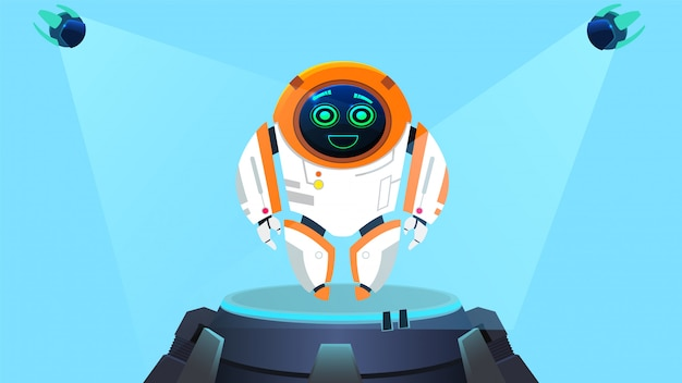 Funny design robot next generation