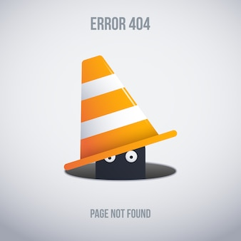 Funny error 404 background design