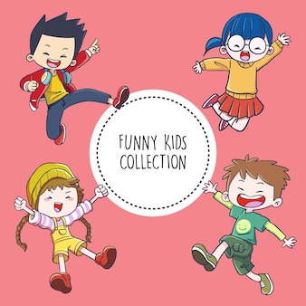 Funny kids collection