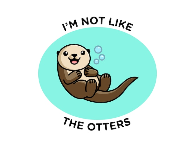 Funny otter pun
