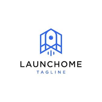 Fusée simple avec création de logo à la maison