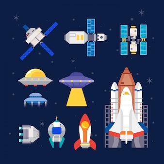 Fusée et vaisseaux spatiaux