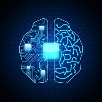 Future technologie du cerveau.
