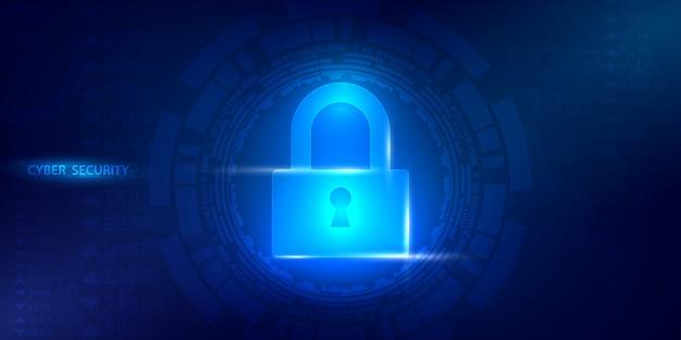 Futurs services web de cyber-technologie pour les entreprises et le projet internet.