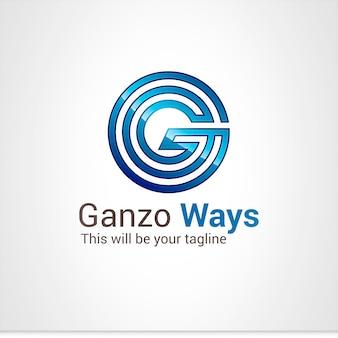 G lettre logo