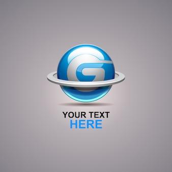 G logo abstrait