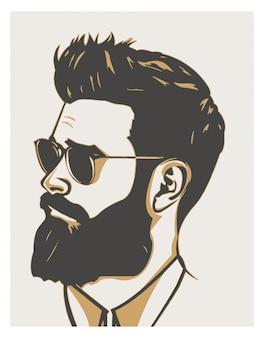 Gabarit de conceptions pour barber shop