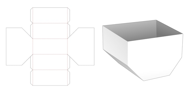 Gabarit de découpe hexagonal inégal