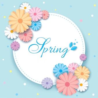Gabarit de printemps