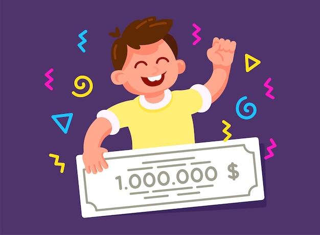Gagnant de la loterie